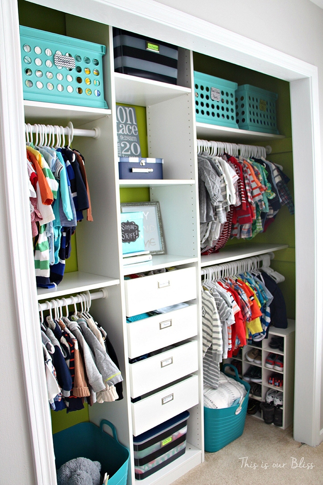 Những mẫu tủ quần áo giúp phòng của bé luôn gọn gàng và đẹp đẽ - Ảnh 3.