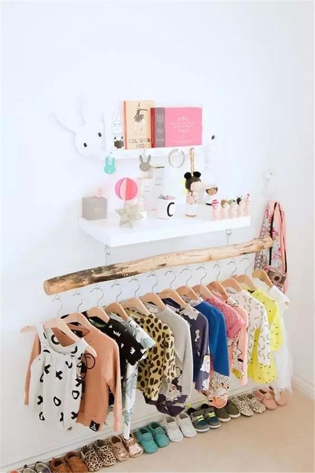 Những mẫu tủ quần áo giúp phòng của bé luôn gọn gàng và đẹp đẽ - Ảnh 4.
