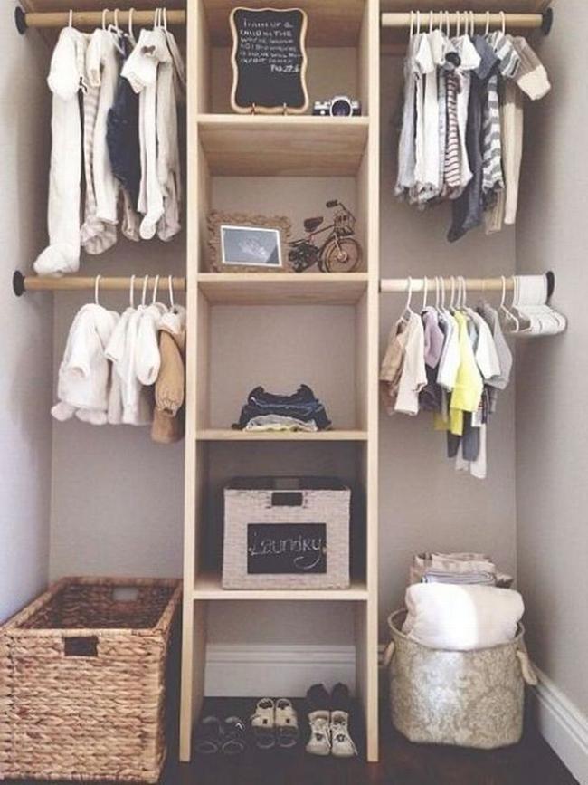 Những mẫu tủ quần áo giúp phòng của bé luôn gọn gàng và đẹp đẽ - Ảnh 6.
