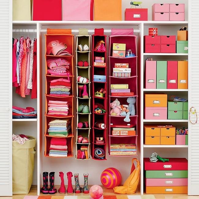 Những mẫu tủ quần áo giúp phòng của bé luôn gọn gàng và đẹp đẽ - Ảnh 7.