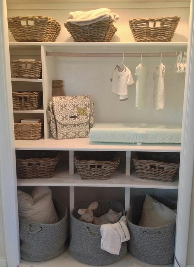 Những mẫu tủ quần áo giúp phòng của bé luôn gọn gàng và đẹp đẽ - Ảnh 9.
