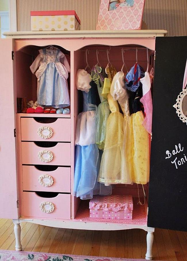 Những mẫu tủ quần áo giúp phòng của bé luôn gọn gàng và đẹp đẽ - Ảnh 11.