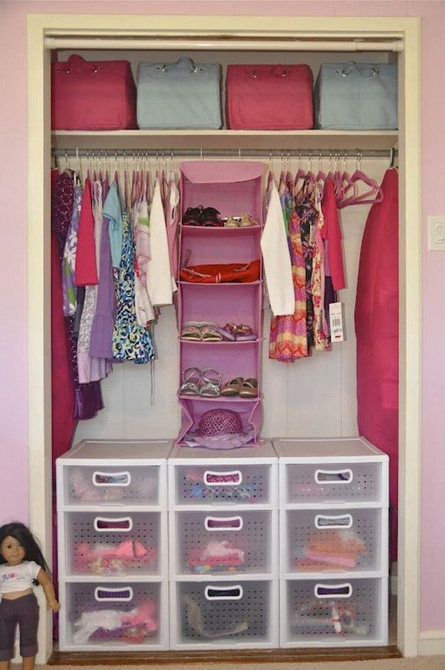Những mẫu tủ quần áo giúp phòng của bé luôn gọn gàng và đẹp đẽ - Ảnh 12.
