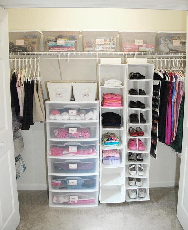 Những mẫu tủ quần áo giúp phòng của bé luôn gọn gàng và đẹp đẽ - Ảnh 13.