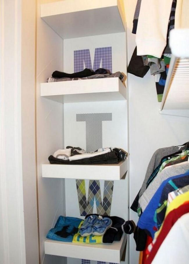 Những mẫu tủ quần áo giúp phòng của bé luôn gọn gàng và đẹp đẽ - Ảnh 15.