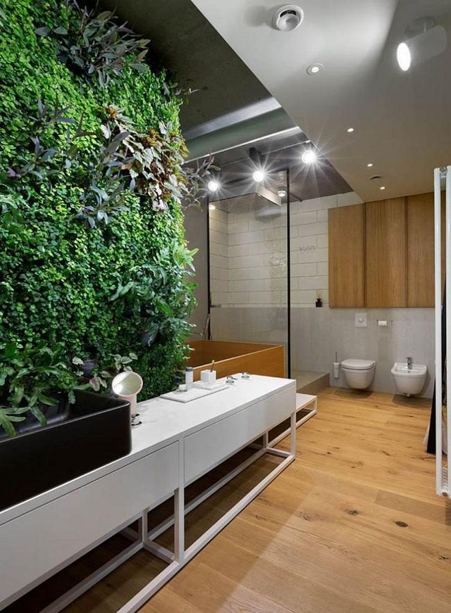 Đi trước thời đại là gì? Là bạn phải lắp khung đen vào phòng tắm như thế này - Ảnh 7.