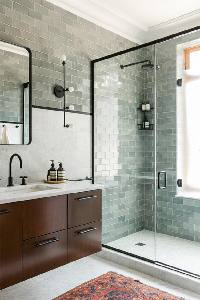 Đi trước thời đại là gì? Là bạn phải lắp khung đen vào phòng tắm như thế này - Ảnh 8.