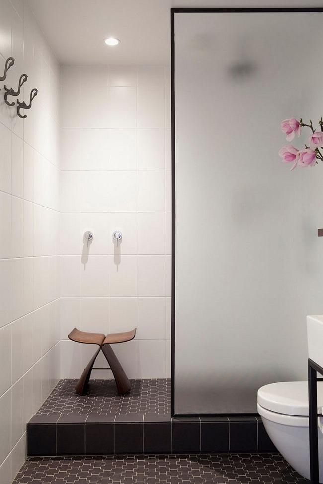 Đi trước thời đại là gì? Là bạn phải lắp khung đen vào phòng tắm như thế này - Ảnh 9.
