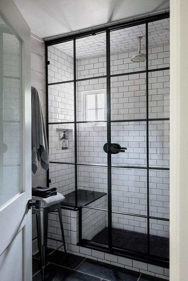 Đi trước thời đại là gì? Là bạn phải lắp khung đen vào phòng tắm như thế này - Ảnh 10.