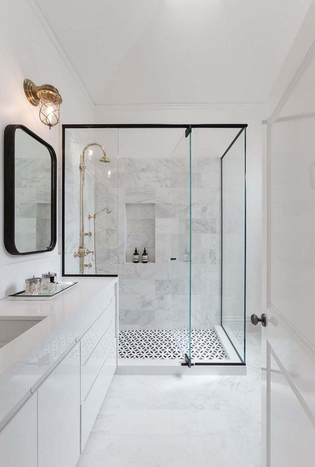 Đi trước thời đại là gì? Là bạn phải lắp khung đen vào phòng tắm như thế này - Ảnh 11.