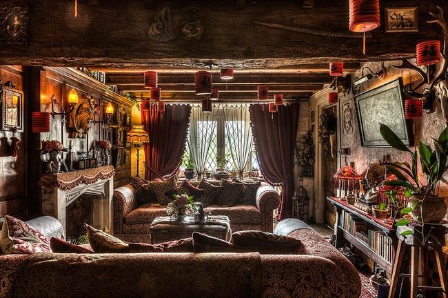 Vẻ đẹp độc đáo của ngôi nhà có 13 phòng là 13 phong cách khác nhau - Ảnh 5.