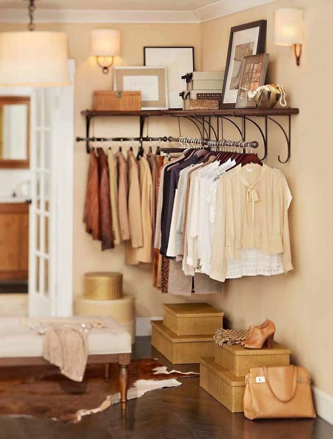 15 cách thông minh tuyệt vời để sắp xếp tủ quần áo luôn gọn gàng - Ảnh 5.