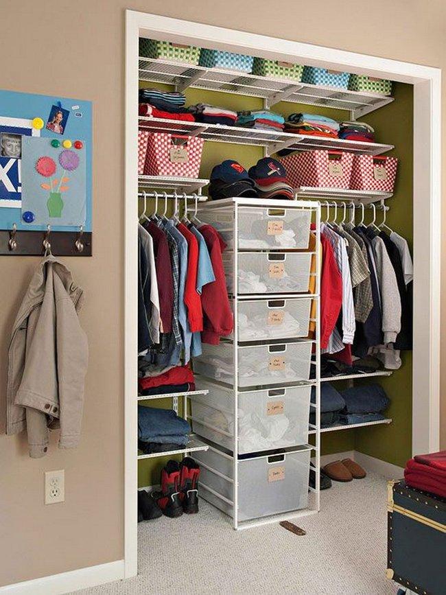 15 cách thông minh tuyệt vời để sắp xếp tủ quần áo luôn gọn gàng - Ảnh 6.