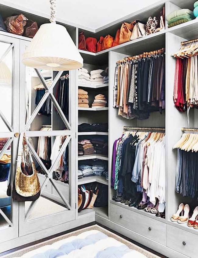 15 cách thông minh tuyệt vời để sắp xếp tủ quần áo luôn gọn gàng - Ảnh 7.