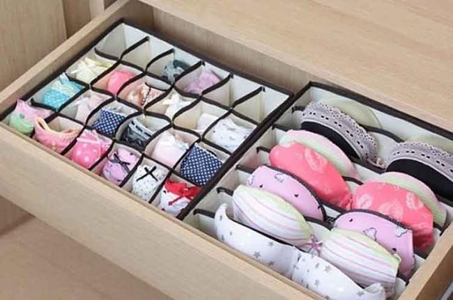 15 cách thông minh tuyệt vời để sắp xếp tủ quần áo luôn gọn gàng - Ảnh 9.