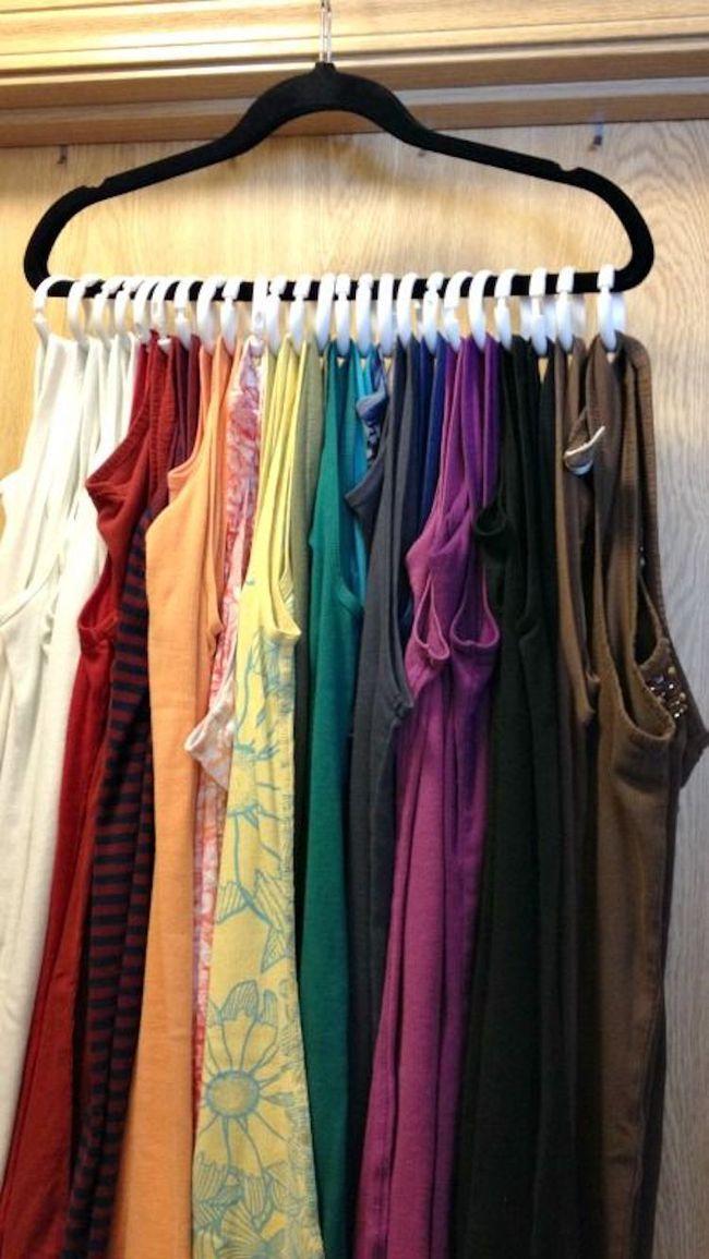 15 cách thông minh tuyệt vời để sắp xếp tủ quần áo luôn gọn gàng - Ảnh 10.