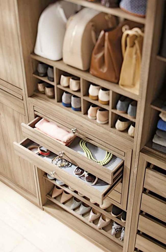 15 cách thông minh tuyệt vời để sắp xếp tủ quần áo luôn gọn gàng - Ảnh 11.