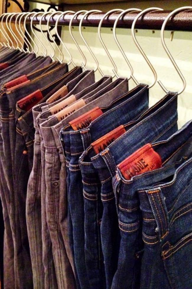 15 cách thông minh tuyệt vời để sắp xếp tủ quần áo luôn gọn gàng - Ảnh 12.