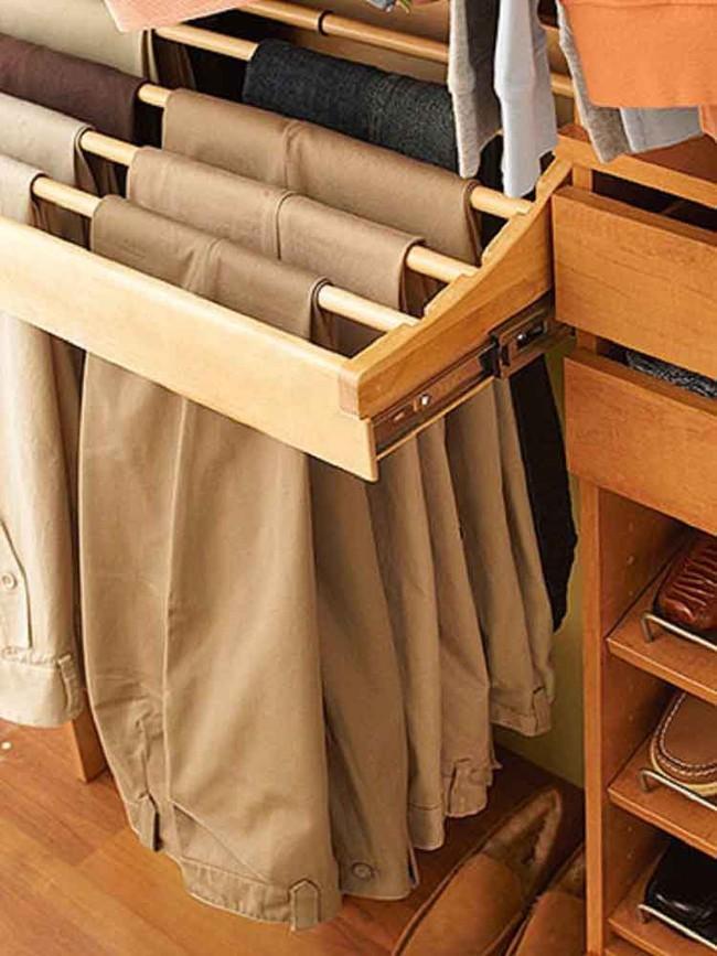 15 cách thông minh tuyệt vời để sắp xếp tủ quần áo luôn gọn gàng - Ảnh 13.