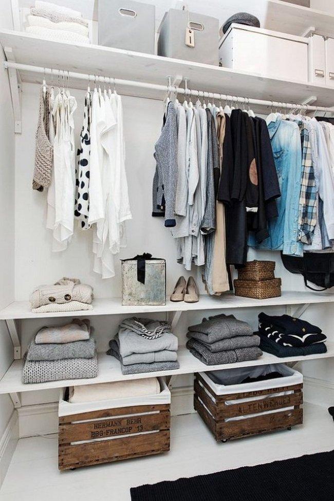 15 cách thông minh tuyệt vời để sắp xếp tủ quần áo luôn gọn gàng - Ảnh 14.