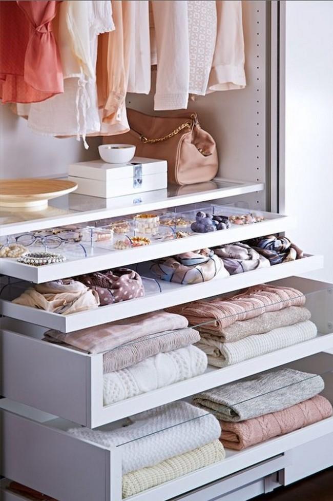 15 cách thông minh tuyệt vời để sắp xếp tủ quần áo luôn gọn gàng - Ảnh 15.