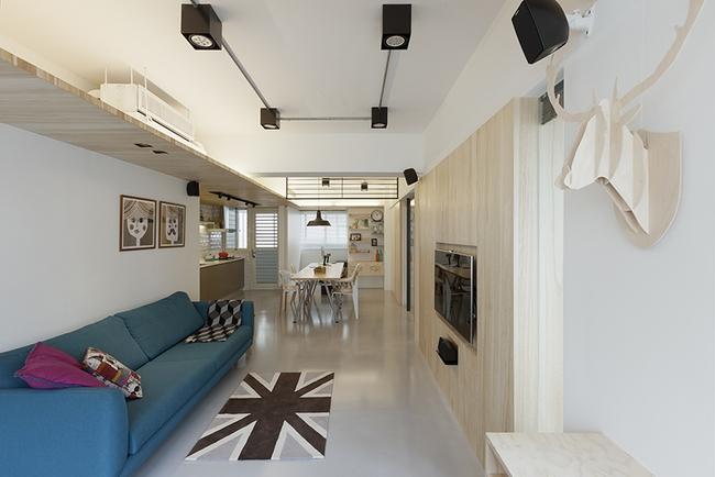 Căn hộ 35m² thoáng mát và ngập tràn hạnh phúc trong từng đường nét của vợ chồng son - Ảnh 3.