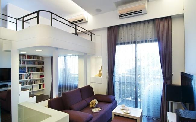 Căn hộ nhỏ vỏn vẹn 23m² được bố trí đẹp như căn hộ cao cấp - Ảnh 2.