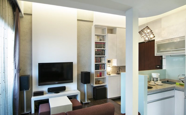 Căn hộ nhỏ vỏn vẹn 23m² được bố trí đẹp như căn hộ cao cấp - Ảnh 3.