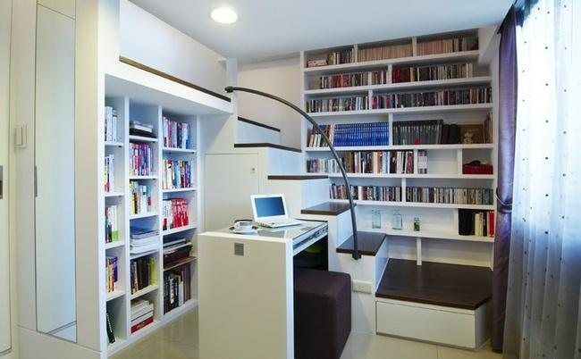 Căn hộ nhỏ vỏn vẹn 23m² được bố trí đẹp như căn hộ cao cấp - Ảnh 4.