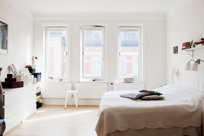 Căn hộ nhỏ khiến vạn người nhung nhớ với cách trang trí nhà tinh khôi sắc trắng - Ảnh 6.