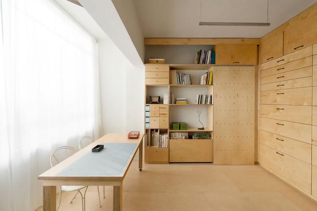 Bất ngờ với căn hộ vỏn vẹn 20m² vẫn đủ các phòng chức năng của vợ chồng mới cưới - Ảnh 2.