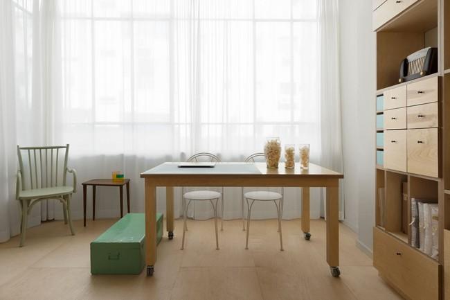 Bất ngờ với căn hộ vỏn vẹn 20m² vẫn đủ các phòng chức năng của vợ chồng mới cưới - Ảnh 3.