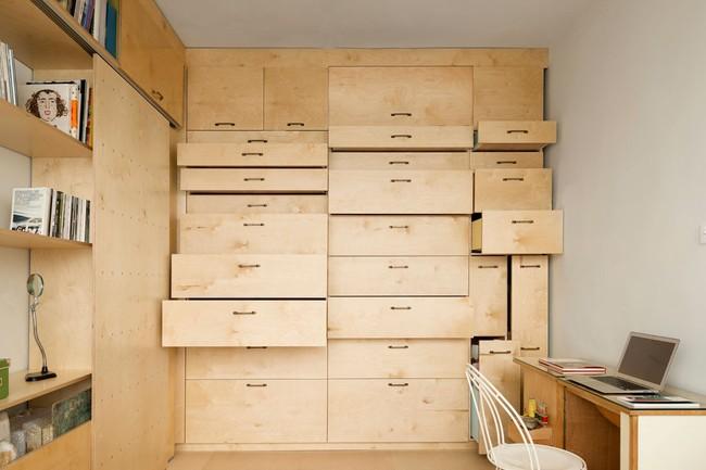 Bất ngờ với căn hộ vỏn vẹn 20m² vẫn đủ các phòng chức năng của vợ chồng mới cưới - Ảnh 4.
