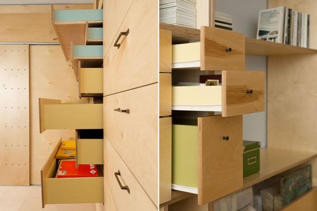 Bất ngờ với căn hộ 20m2 vẫn đủ phòng khách, phòng ngủ, nơi làm việc, nấu nướng dành cho vợ chồng trẻ - Ảnh 5.