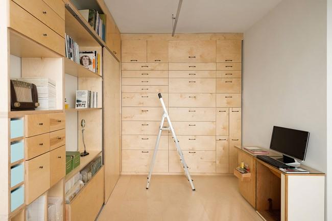 Bất ngờ với căn hộ vỏn vẹn 20m² vẫn đủ các phòng chức năng của vợ chồng mới cưới - Ảnh 5.