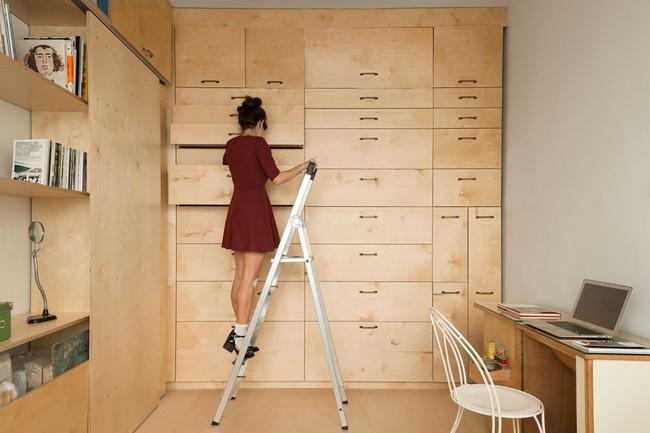 Bất ngờ với căn hộ vỏn vẹn 20m² vẫn đủ các phòng chức năng của vợ chồng mới cưới - Ảnh 6.