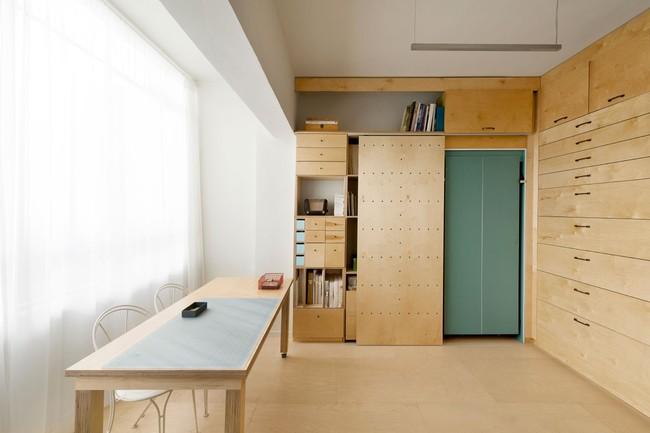 Bất ngờ với căn hộ vỏn vẹn 20m² vẫn đủ các phòng chức năng của vợ chồng mới cưới - Ảnh 7.