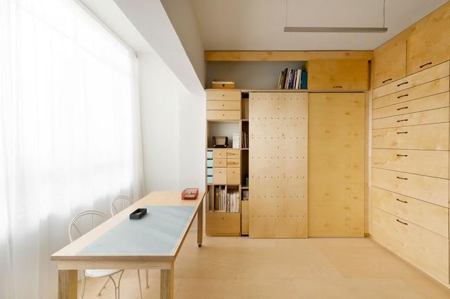 Bất ngờ với căn hộ vỏn vẹn 20m² vẫn đủ các phòng chức năng của vợ chồng mới cưới - Ảnh 8.