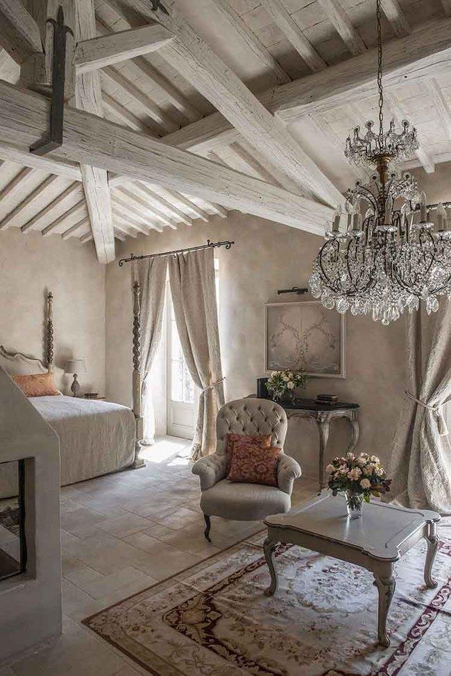 10 mẹo tạo phòng ngủ phong cách đồng quê Pháp tuyệt vời nhất - Ảnh 1.