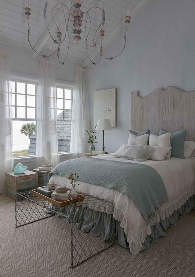 10 mẹo tạo phòng ngủ phong cách đồng quê Pháp tuyệt vời nhất - Ảnh 4.