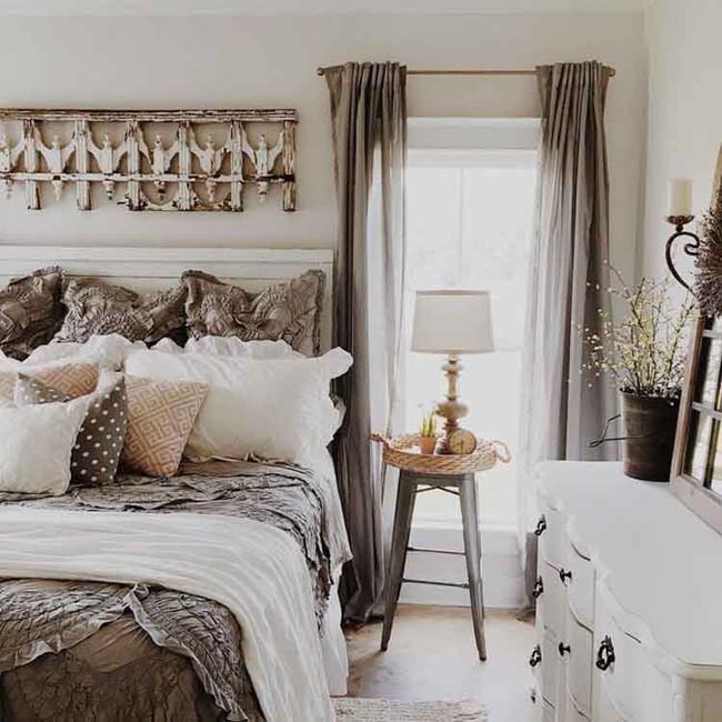 10 mẹo tạo phòng ngủ phong cách đồng quê Pháp tuyệt vời nhất - Ảnh 10.