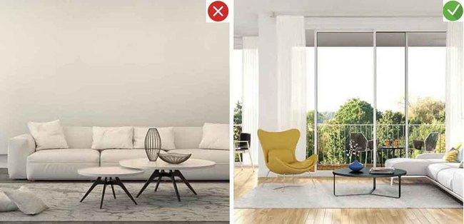 8 sai lầm phổ biến và giải pháp khắc phục khi trang trí phòng khách - Ảnh 1.