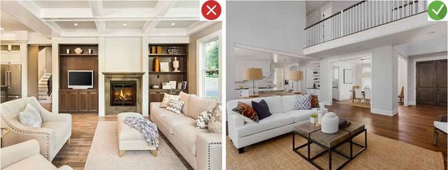 8 sai lầm phổ biến và giải pháp khắc phục khi trang trí phòng khách - Ảnh 2.