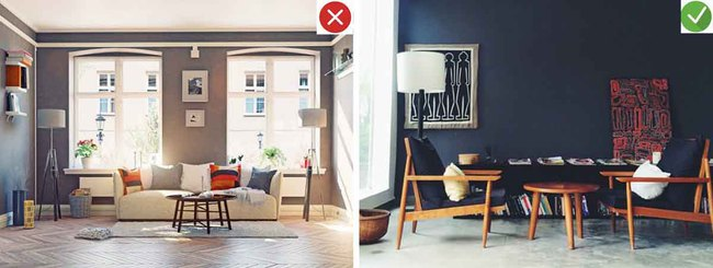 8 sai lầm phổ biến và giải pháp khắc phục khi trang trí phòng khách - Ảnh 6.