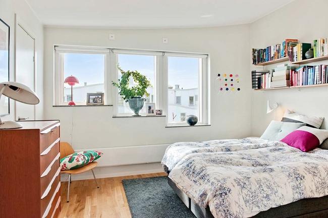 Căn hộ hai tầng đẹp tinh tế và hiện đại với phong cách tối giản - Ảnh 7.