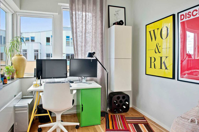 Căn hộ hai tầng đẹp tinh tế và hiện đại với phong cách tối giản - Ảnh 8.