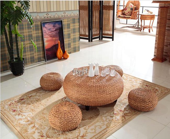 Ngắm nhìn những bộ bàn ghế với chất liệu mây tre đan quen thuộc nhưng đẹp đến bất ngờ - Ảnh 13.
