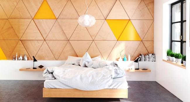 17 phòng ngủ gỗ xua tan định kiến về nội thất gỗ là nặng nề và già nua - Ảnh 1.