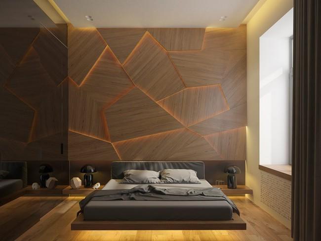 17 phòng ngủ gỗ xua tan định kiến về nội thất gỗ là nặng nề và già nua - Ảnh 2.