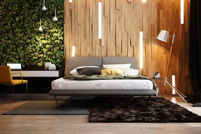 17 phòng ngủ gỗ xua tan định kiến về nội thất gỗ là nặng nề và già nua - Ảnh 5.